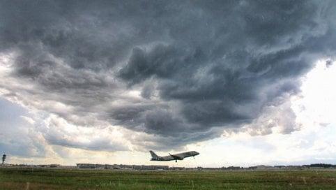 I temporali di Malpensa: tre mesi di scatti apocalittici